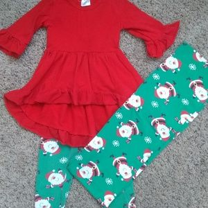Other - Three Piece Christmas Holiday Outfit, 2t